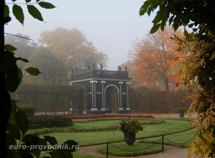 Шенбрунн. В дворцовых садах
