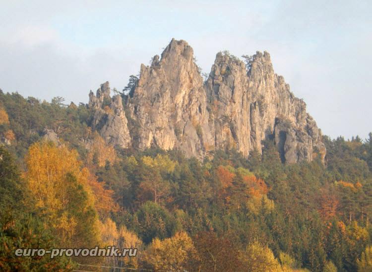 Сухие скалы. Национальный природный парк