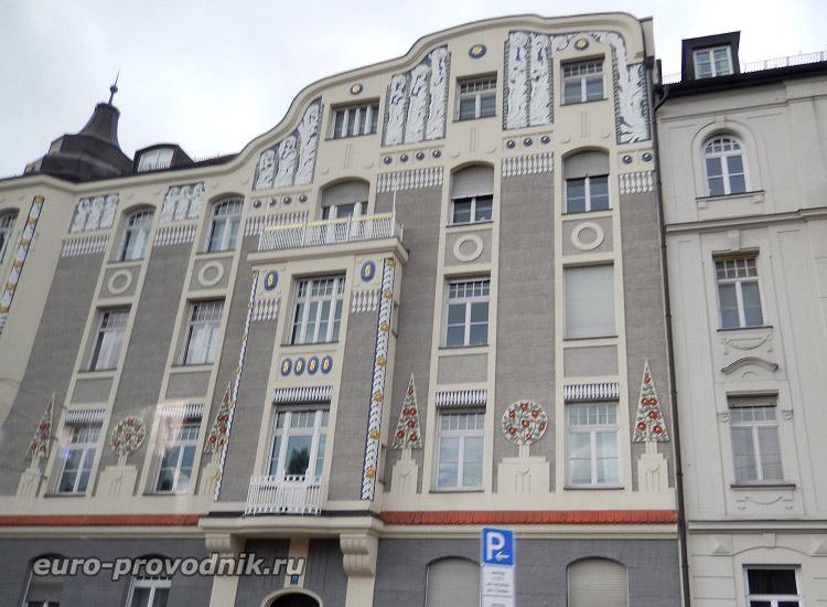 Оригинальные фасады Мюнхена