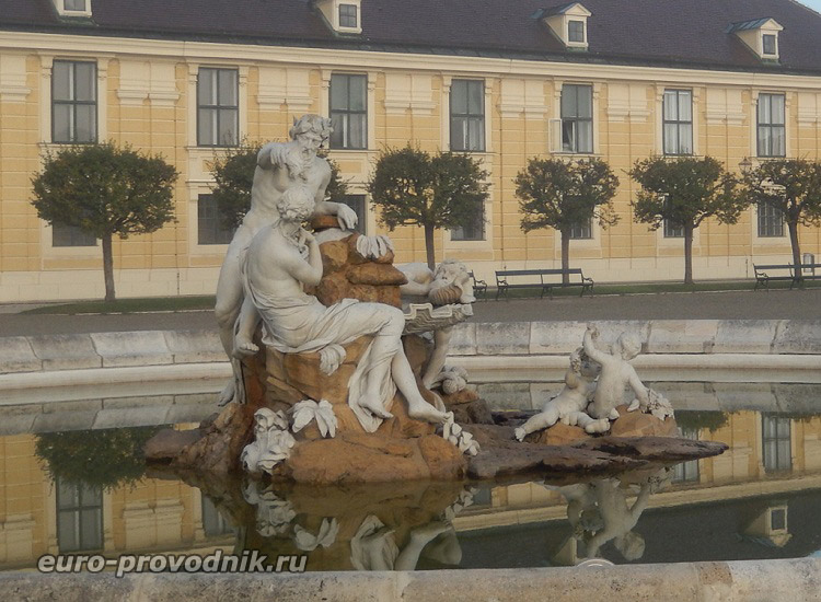 Скульптурная композиция фонтана