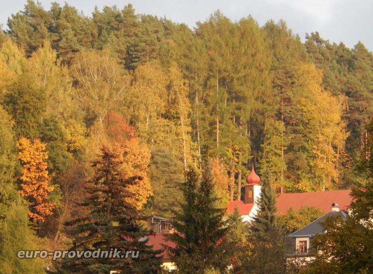 Мала Скала. Башня костела