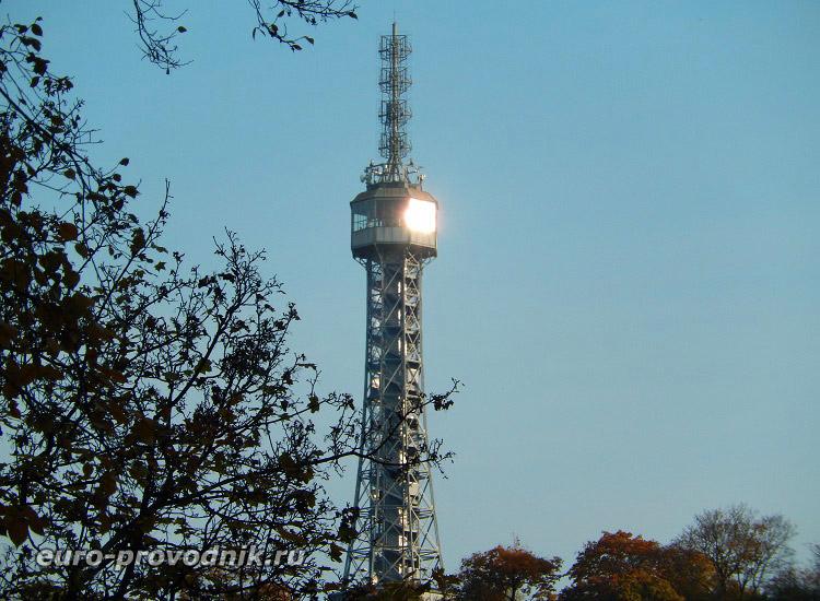 Обзорная башня Петршин
