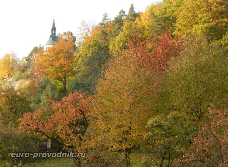 Осень в поселке Мала Скала
