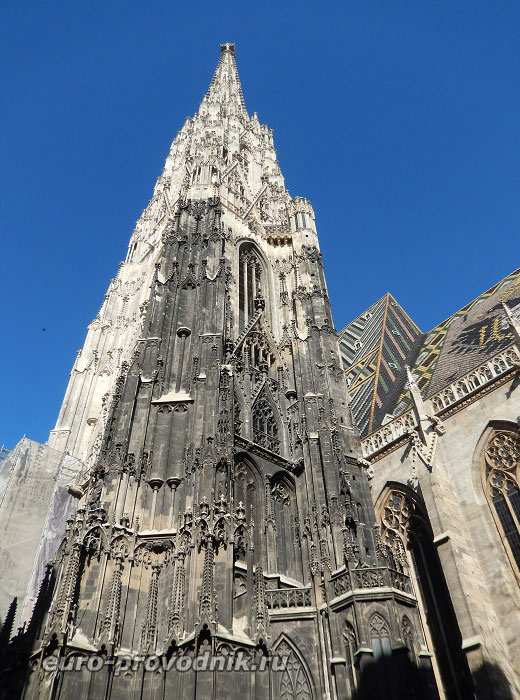 Готическая башня собора Св. Стефана