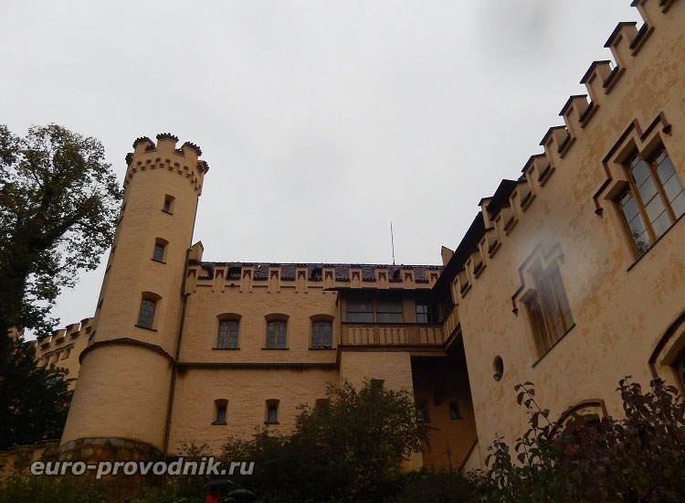 Стены замка Хоэншвангау