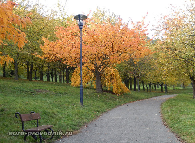 Прогулка в Петршинских садах