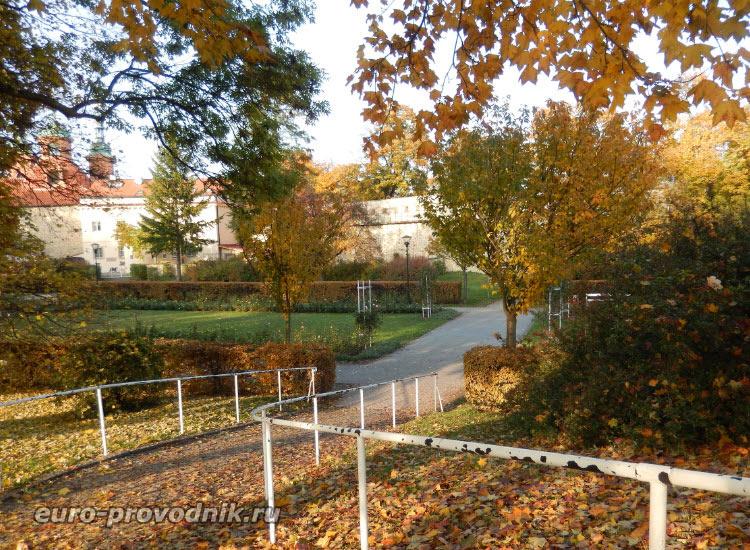 Сады на вершине холма Петршин