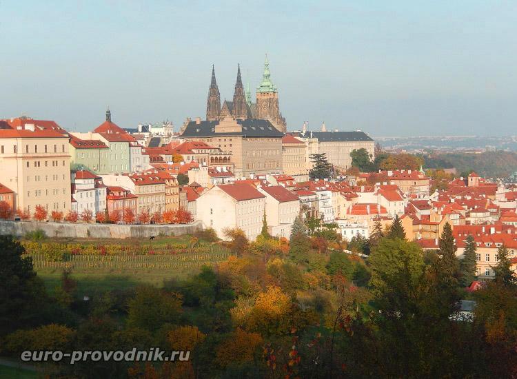 Виды от стен Страговского монастыря