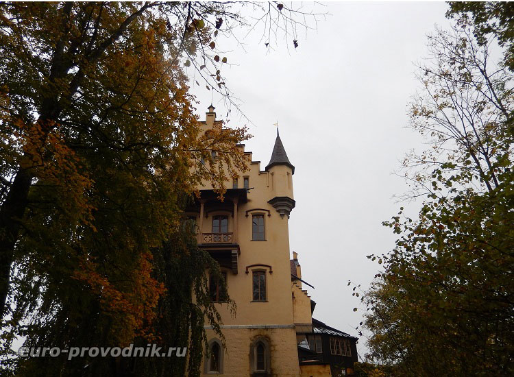 К замку Hohenschwangau