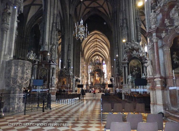 В соборе Святого Стефана