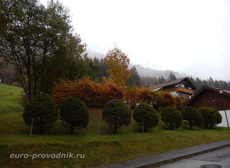 Виды альпийской деревни