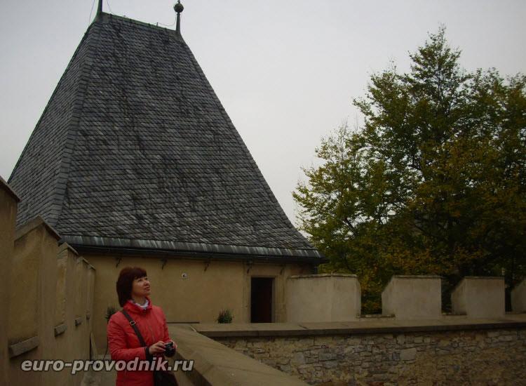 Часовая башня Карлштейна