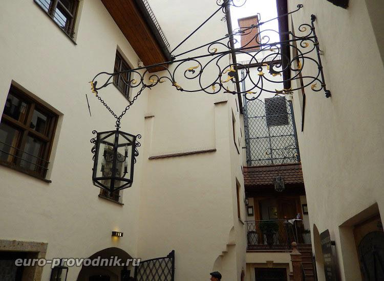 Мюнхен. Дворики Старого города