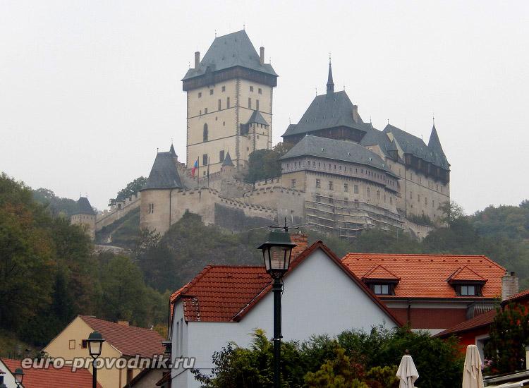 Чехия. Замок Карлштейн