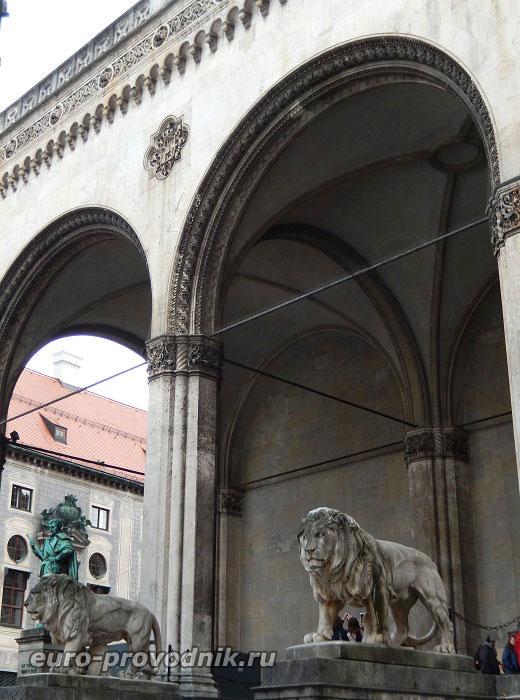 Образы Монумента Полководцев