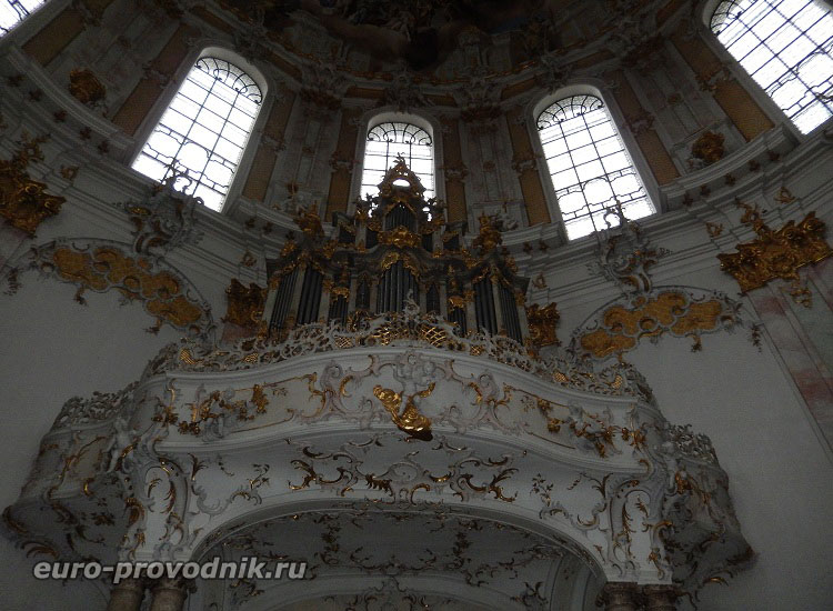 Орган собора в монастыре Этталь