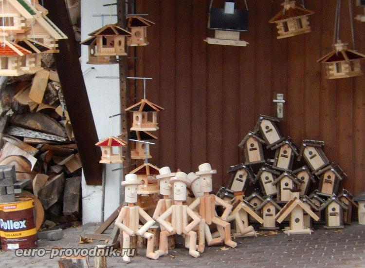 Местные сувениры в Этталь