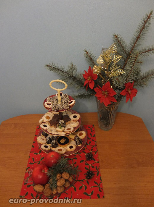 Рождественское угощение в Чехии