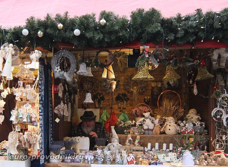 Рождественская ярмарка в Чехии