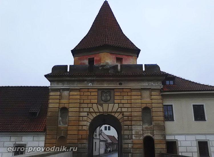 Чески Крумлов. Будейовицкие ворота