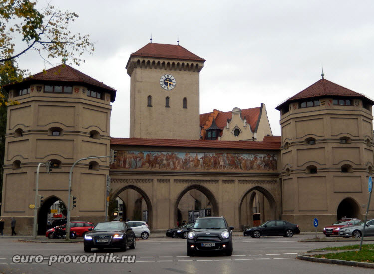 Мюнхен. Ворота Isartor