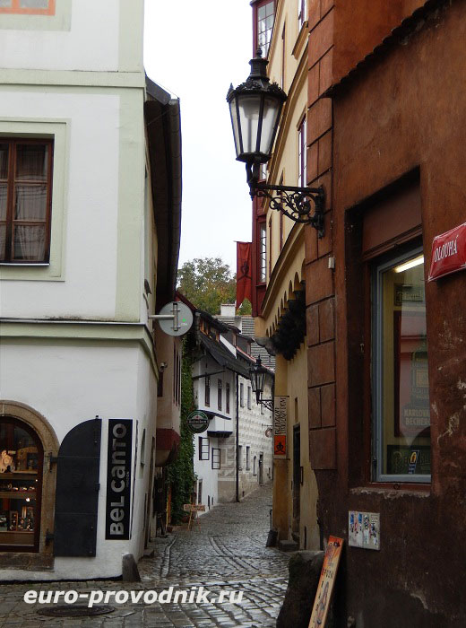 Улицы Чески Крумлова