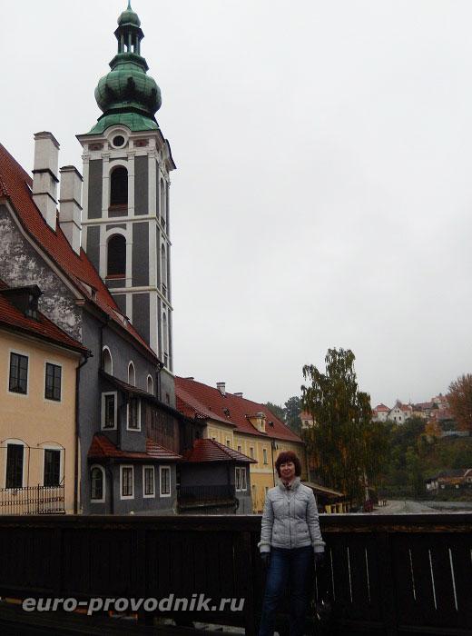 Вид с Банного моста на башню Йошта
