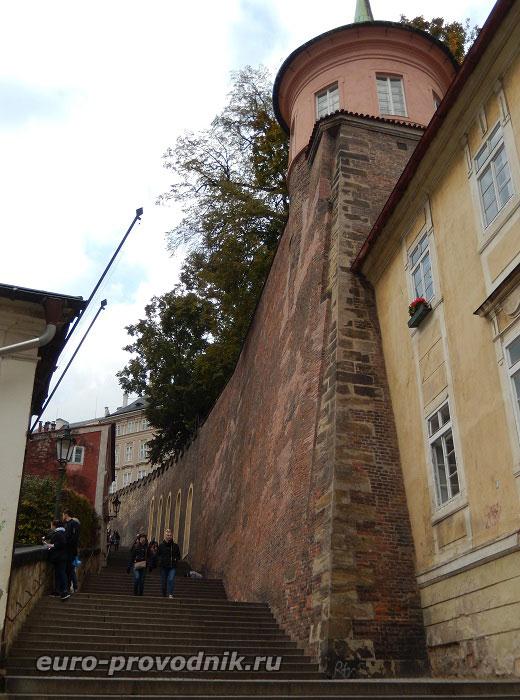 На Замковой лестнице