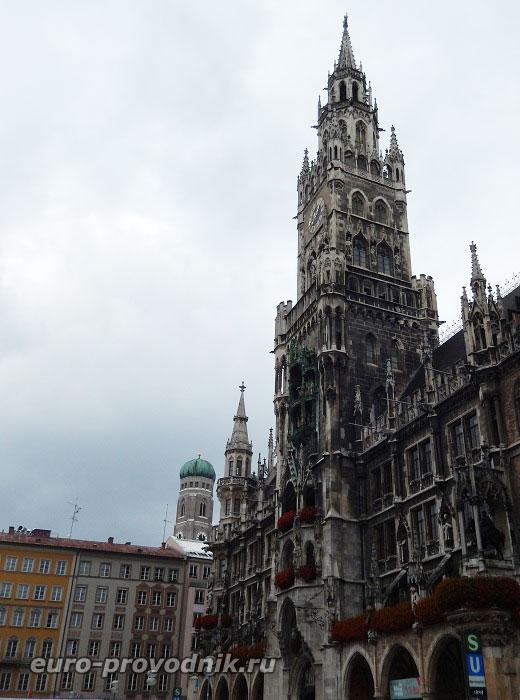 Мюнхен. Башня новой ратуши