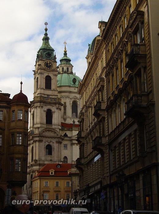 Вид на собор Святого Микулаша