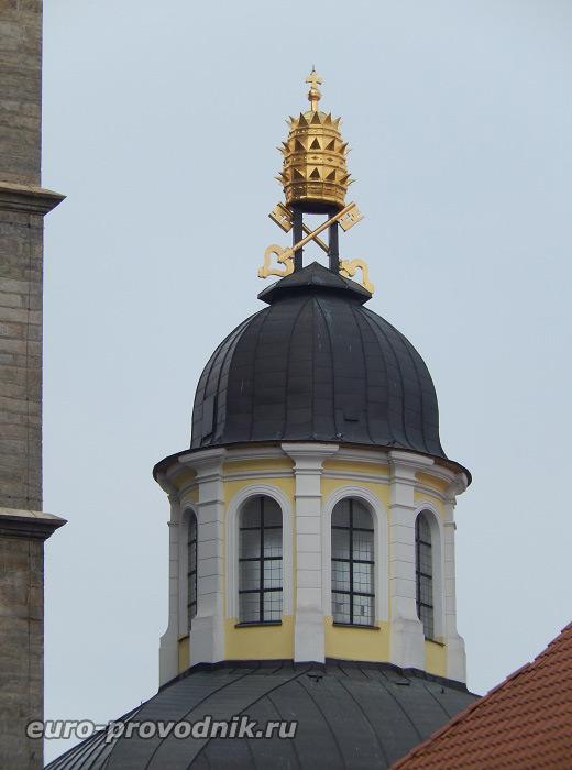 Купол часовни Святого Климента