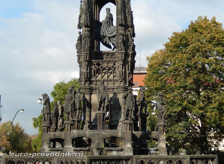 Фрагмент Краннерова фонтана
