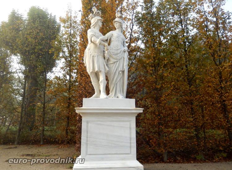 Скульптуры парка Шенбрунн