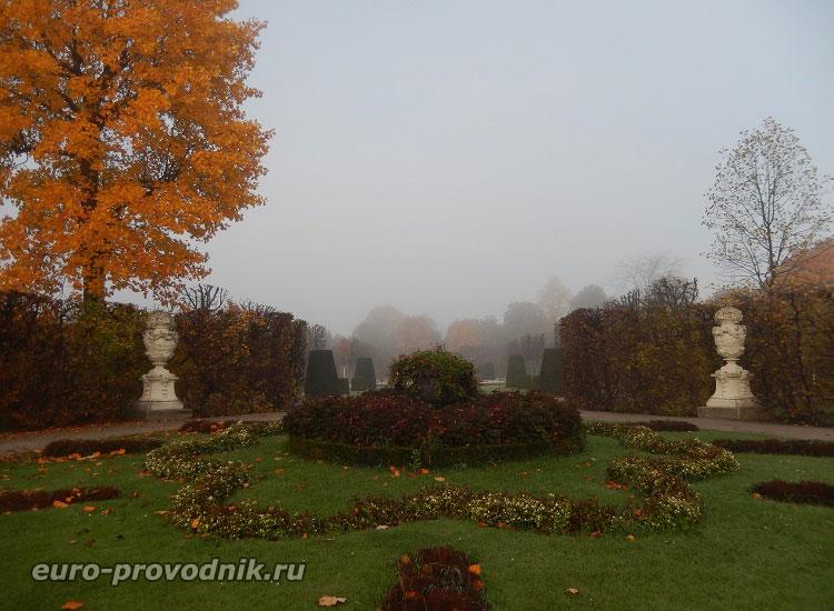 Австрия. Осень в Шенбрунн