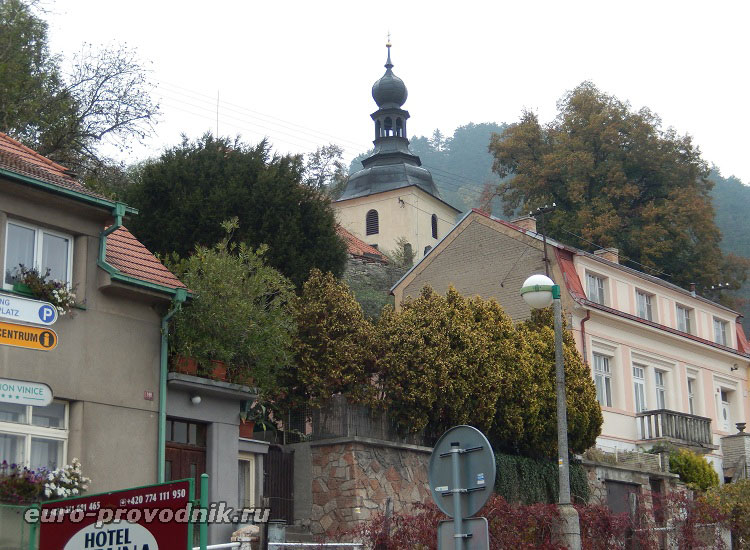 Городок при замке Карлштейн