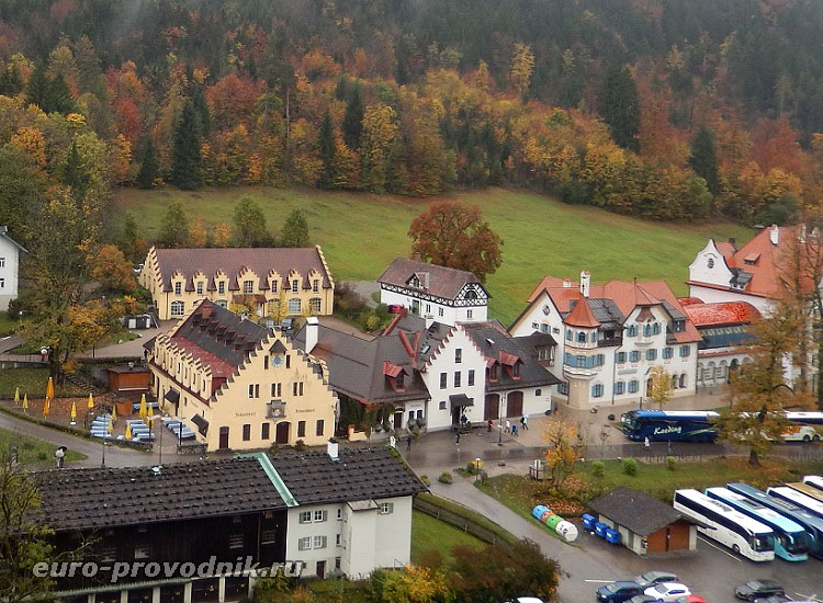 Швангау - селение в Баварии