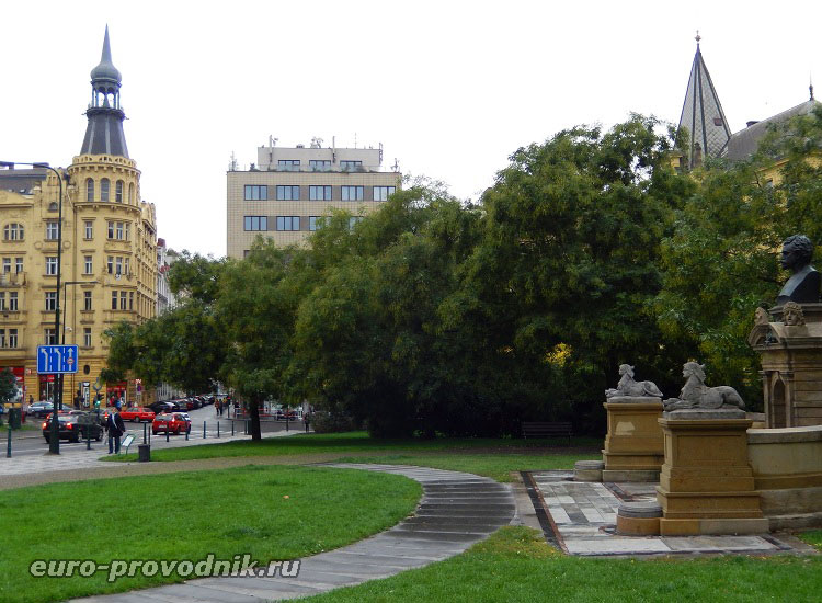 Прага. Карлова площадь