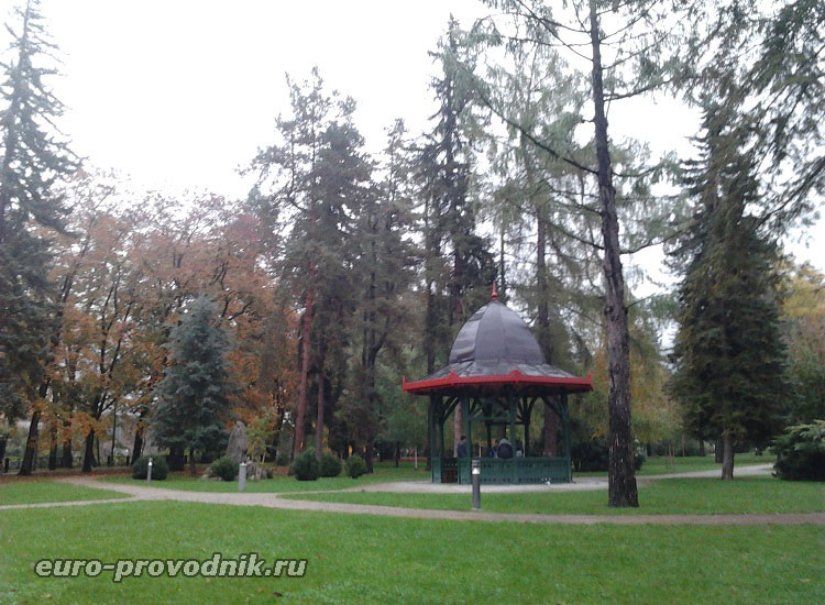 Чески Крумлов. Городской парк