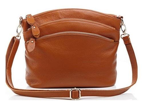 Удобная сумка с тремя отделениями