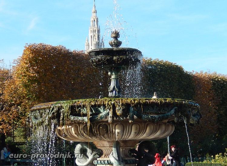 Как уточка в фонтане купалась)))