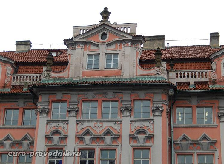 Фасад дома Фауста