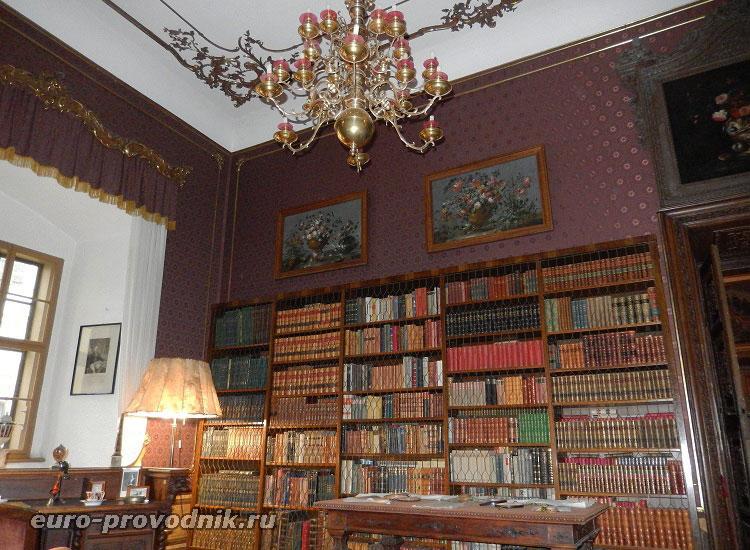 Большая библиотека замка