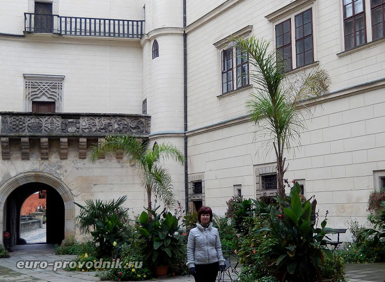 Вход на внутренний двор замка