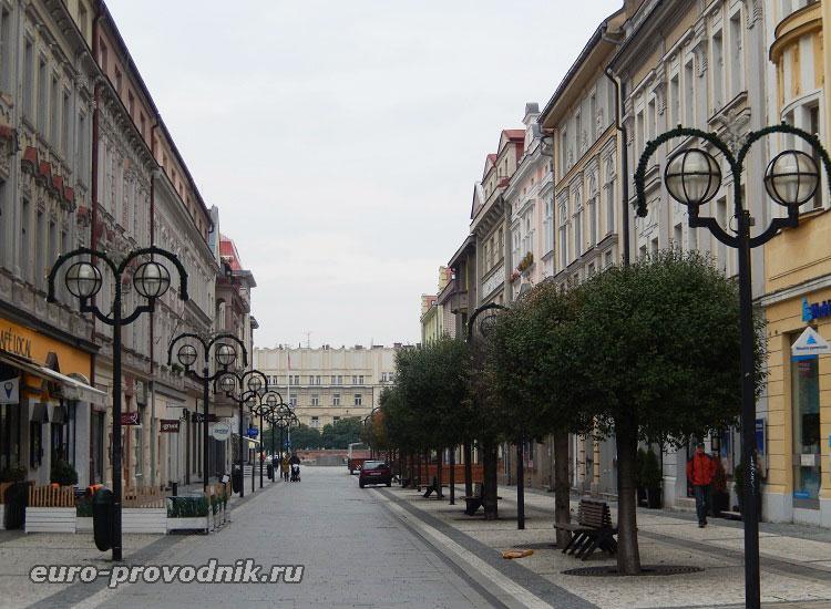 Улицы в Градец Кралове