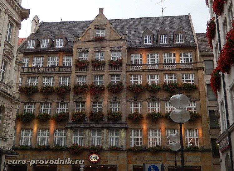 Мюнхен. Улица Kaufinger