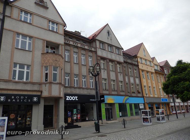 Улицы правобережной части города