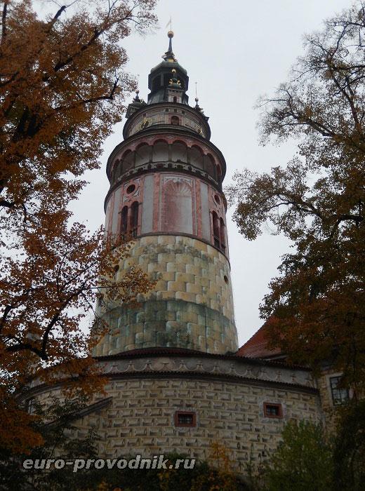 Крумловский замок. Малый Град