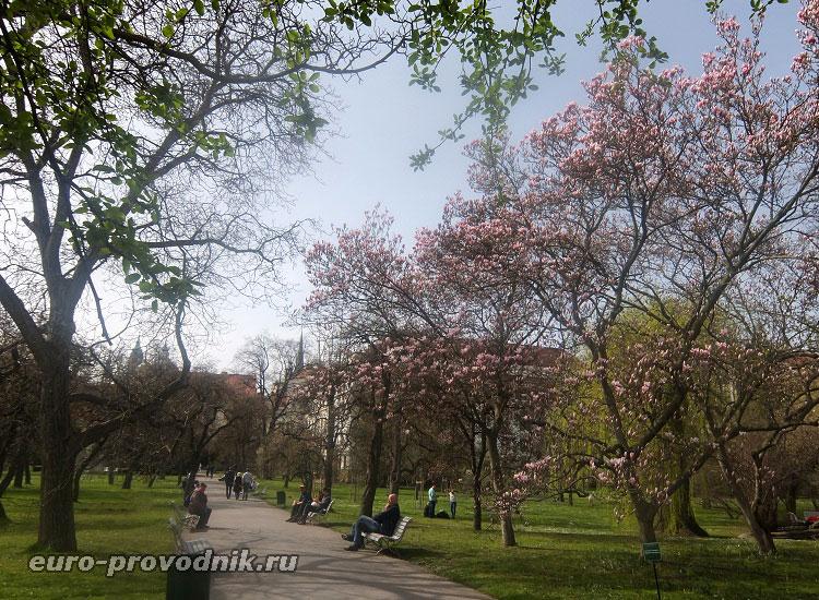 Прага. Вояновы сады