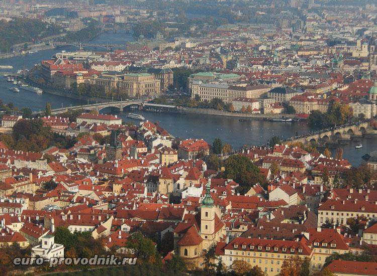 Мосты Праги через Влтаву