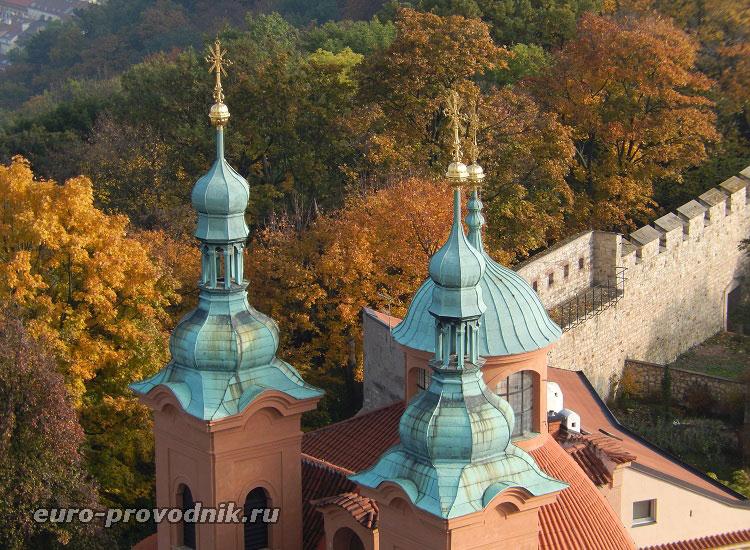 Башни костела Св. Лаврентия